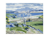 Ben Cruachan from Achnacraig, Mull Giclee Print by Francis Campbell Cadell