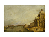 Santa Maria delle Salute and the Entrance to the Grand Canal, Venice, Looking East Prints by Francesco		 Guardi