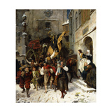 The First Coopers Dance Giclee Print by Alphons		 Bodenmuller