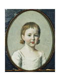 Portrait of Matthew Robinson Boulton, Bust Length Aged 3 Prints by Jean-Etienne		 Liotard