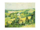 New England Hills Giclee Print by Robert William		 Vonnoh