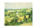 New England Hills Giclee Print by Robert William Vonnoh