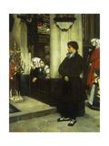 Pendant L'Office (Martin Luther's Doubts) Print by James Jacques Joseph Tissot
