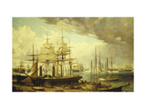New York Harbor Giclee Print by  Le Grand de Reulandt