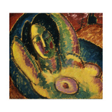 Sleeping Prints by Alexej Von Jawlensky