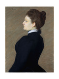 Lady in Black Giclee Print by Lilla Cabot		 Perry