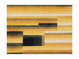 Paul Klee - Felsenkamer Digitálně vytištěná reprodukce