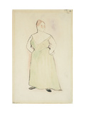 Woman in Evening Dress Giclee Print by Charles Demuth