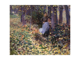 Autumn Sunlight Print by Robinson Theodore