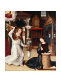 The Annunciation Giclee Print by Pieter		 Pourbus