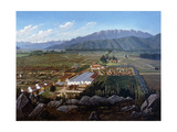 The Vineyard of Erranzuriz-Panquehue, Chile Giclee Print by Daniel		 Escobar