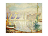 Le Port de Saint Tropez Print by Henri		 Lebasque
