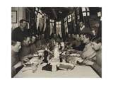 Midwinter Day Dinner, 22nd June, 1911 Giclee Print by Herbert		 Ponting