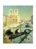 Notre Dame, Paris Giclee Print by Terrick		 Williams