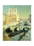 Notre Dame, Paris Giclee Print by Terrick Williams