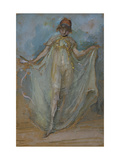 Green and Gold, The Dancer Poster by James Abbott McNeill Whistler