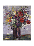 Summer Flowers Giclee Print by Osswald Fritz