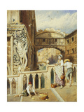 The Bridge of Sighs, Venice Prints by Myles Birket		 Foster