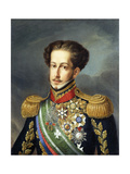 Dom Pedro I (1798-1834), Emperor of Brazil Giclee Print by (attributed to) Jean Debret