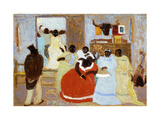 The Brothers Giclee Print by Pedro		 Figari