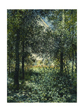 Thicket: The House of Argenteuil Print by Claude Monet