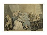 Writing the Will Giclee Print by Thomas		 Rowlandson