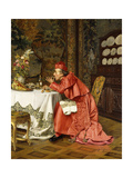 Le Vendredi on fait Penitence Giclee Print by Brunery Francois