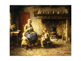 Afternoon Pastimes Giclee Print by Evert Pieters