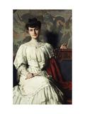 Portrait of Marthe Hientz Giclee Print by Thomas Pollock Anshutz
