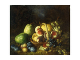 A Basket of Fruit Giclee Print by Antoine		 Vollon