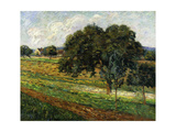 Trees and Flowers, Damiette Countryside Giclee Print by Armand		 Guillaumin