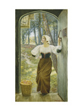 Tithe in Kind Prints by Edward Robert Hughes