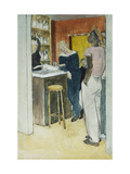 Bistro, Havre Prints by Glyn Warren		 Philpot