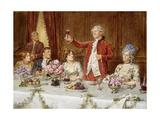 The King! Giclee Print by George Goodwin Kilburne