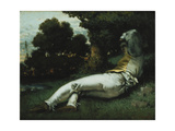 Nap Posters by Gustave		 Courbet