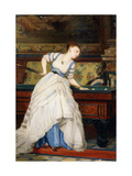 An Elegant Billiard Player Posters by Charles Edouard Boutibonne