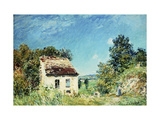 The Abandoned House Giclee Print by Alfred		 Sisley
