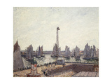 Outer Harbour and Cranes, Le Havre Posters by Camille		 Pissarro