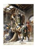 The Martyrs Láminas por Pavesi Paolino