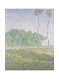 Landscape in the Spring (Giverny) Reproduction giclée Premium par Claude Monet