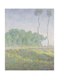 Landscape in the Spring (Giverny) Giclee Print by Claude Monet