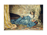 An Odalisque Giclee Print by Jose Cala Moya