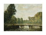Petit Pont sur l'Orvanne Poster par Alfred Sisley