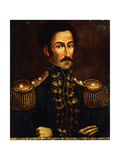 Portrait of Simon Bolivar Giclee Print