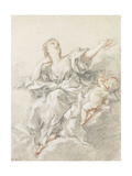 Astronomy Poster by Francois Boucher