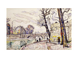 Quai de Seine Art by Paul		 Signac