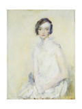 Miss Winifred Barnes Giclee Print by Ambrose		 McEvoy