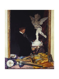 Myself and Cupid Giclee Print by Sir William		 Orpen
