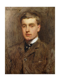 Portrait of George Brook Giclee Print by Walter Frederick		 Osborne
