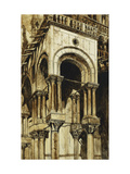 The South West Portico of St. Marks, Venice Giclee Print by John		 Ruskin